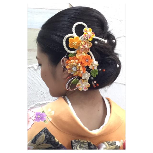 成人式 髪型 ミディアム